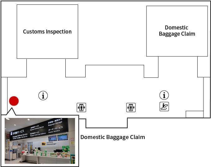 Chubu International Airport Terminal1 Arrival Counter