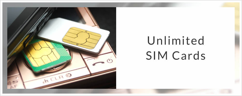 Unlimited SIM Cards