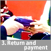 3. Return and payment
